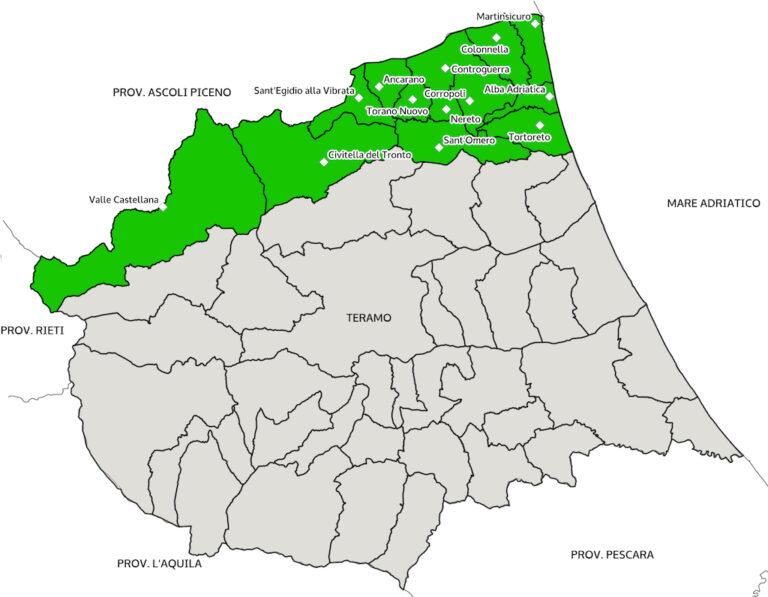 Val Vibrata, area di crisi: la Regione procederà alla proroga