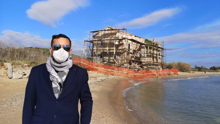 """Roseto, Borgatti: """"Ridisegnare la linea di costa in piena Riserva Naturale"""" NOSTRA INTERVISTA"""