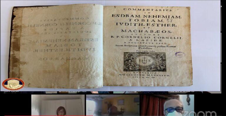 Sulmona, i carabinieri restituiscono un libro del 1661 al convento di San Giuliano