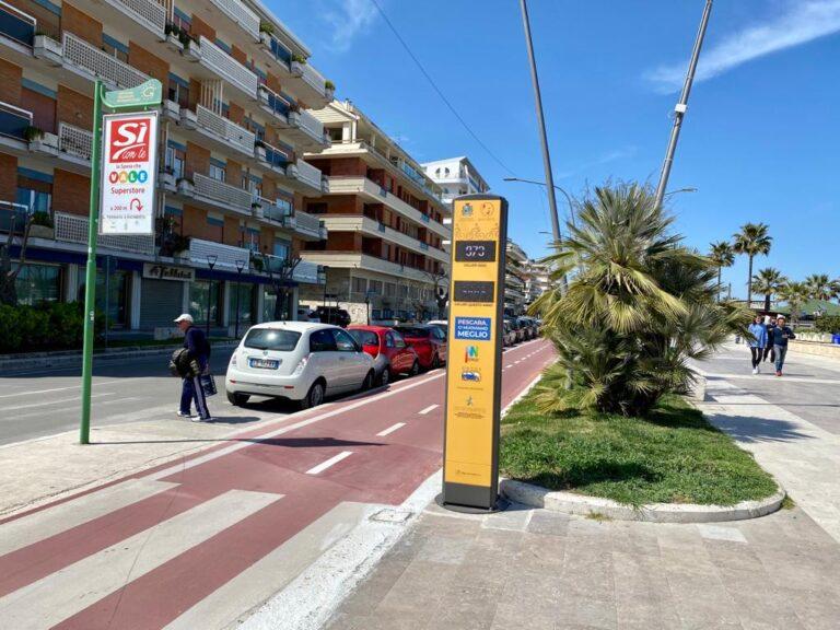 Pescara, pista ciclabile in manutenzione: chiusure sul lungomare