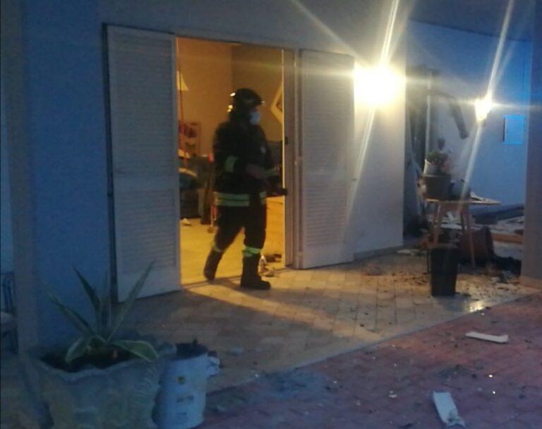 Civitella del Tronto, esplosione nel villino: ustionato dopo la fuga di gas