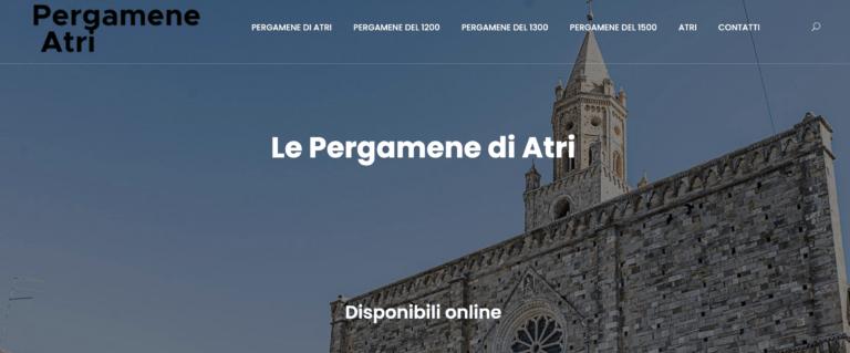 La storia di Atri in un sito che raccoglie le antiche pergamene