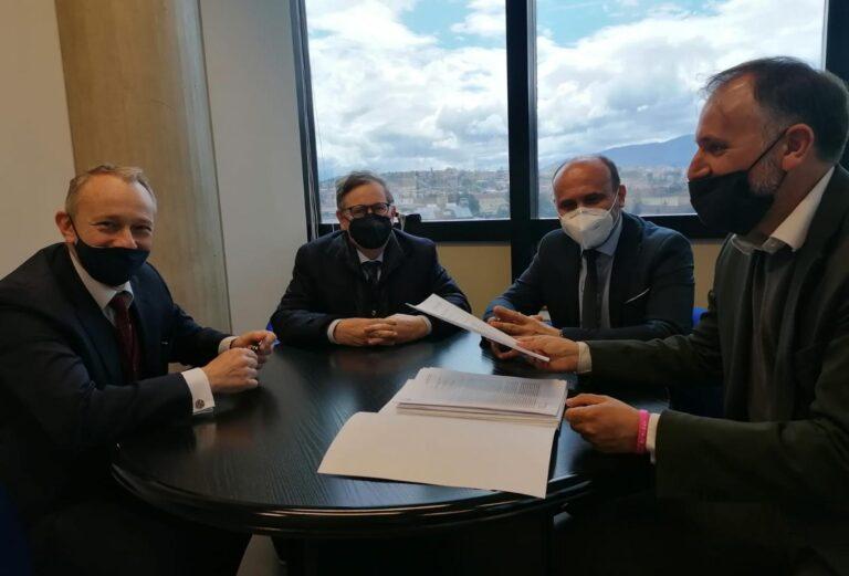 Abruzzo, Liris incontra i vertici della Corte dei Conti