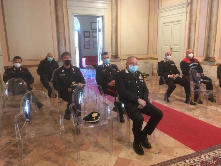 Amp Cerrano: i vertici del Parco incontrano i comandi territoriali dei Carabinieri