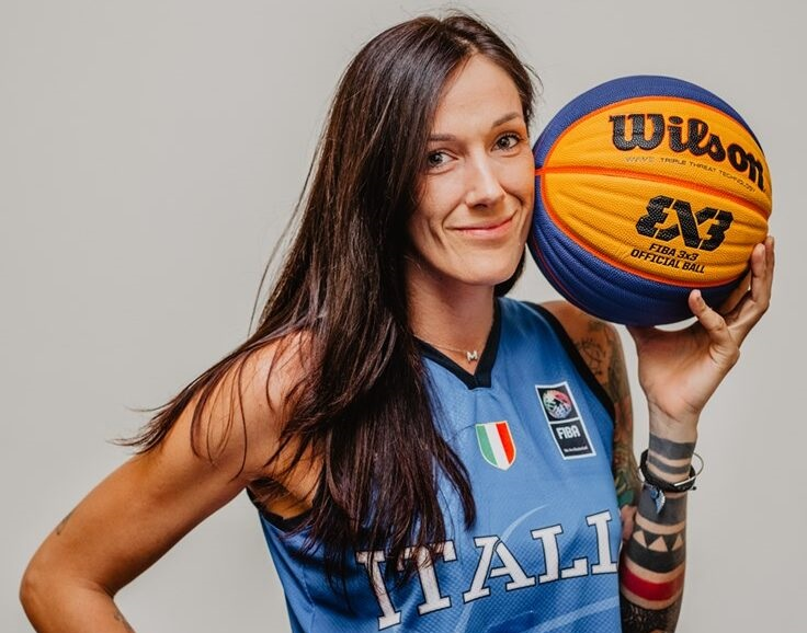Basket, colpaccio Panthers Roseto: arriva la campionessa del mondo 3vs3 Marcella Filippi