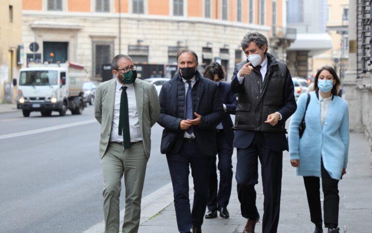 Precari della ricostruzione: vertice a Roma con il Ministro Brunetta VIDEO