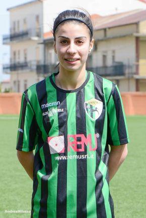 Michela Romeo: 'Sono molto felice di essere a Chieti. Darò il massimo per i colori neroverdi'