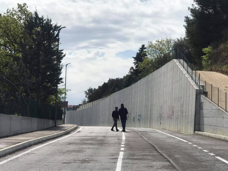 Montesilvano, un murales di 320 metri per l'apertura di via Saragat