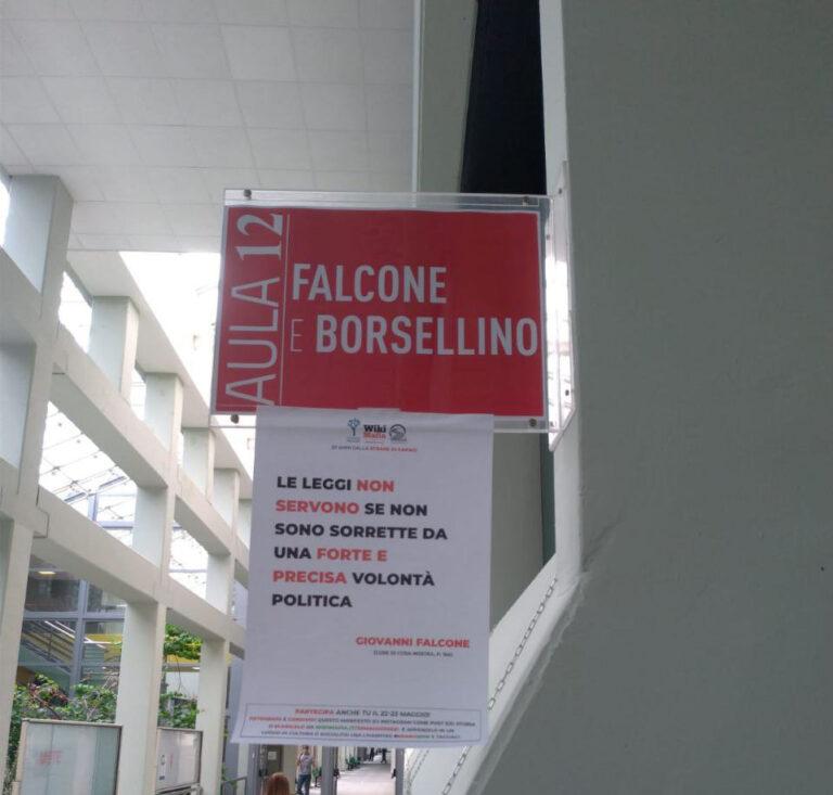 Falcone e Borsellino: ricordo permanente all'Università di Teramo FOTO