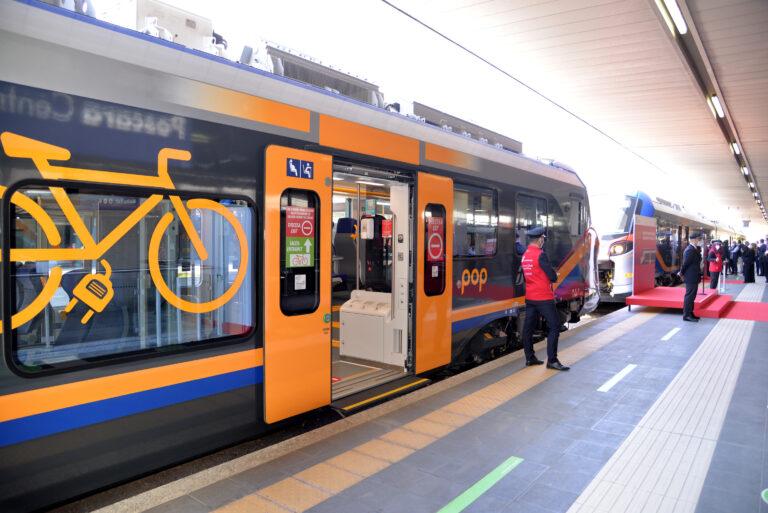Due nuovi treni Pop sulle tratte abruzzesi VIDEO
