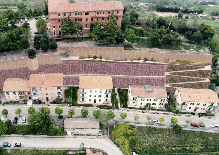 Città Sant'Angelo: nuovo look per il giardino comunale