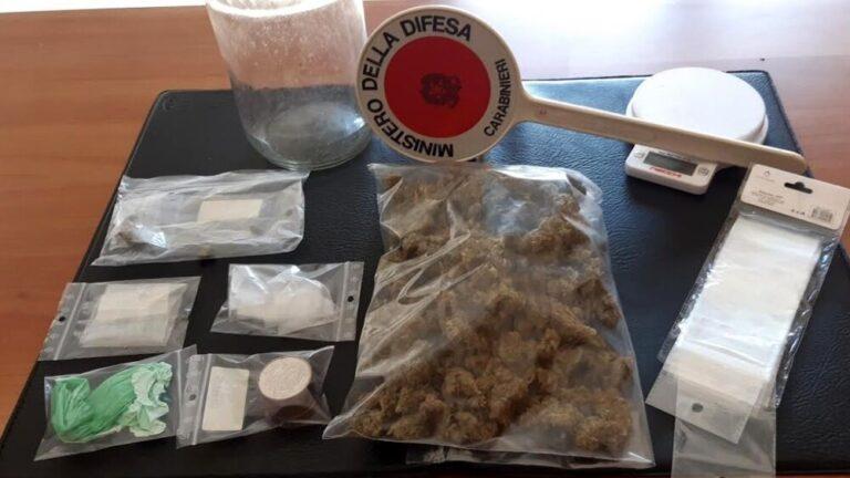 Montesilvano droga in casa: arrestato pusher della vestina