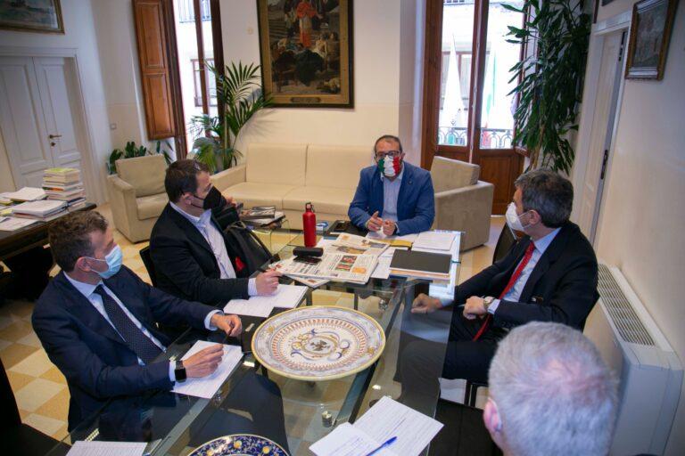 Sisma 2009, Marsilio incontra il nuovo responsabile della struttura di missione