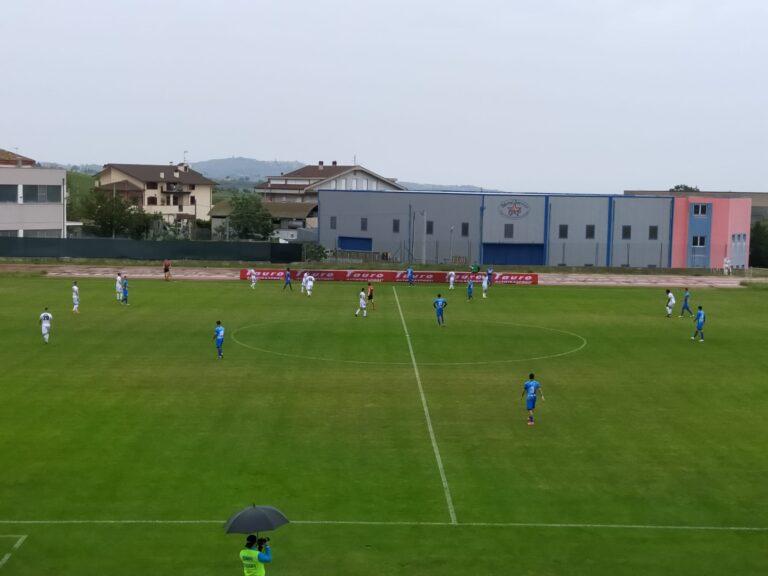 Serie D, Dos Santos non basta: Notaresco-Cynthia finisce 1-1