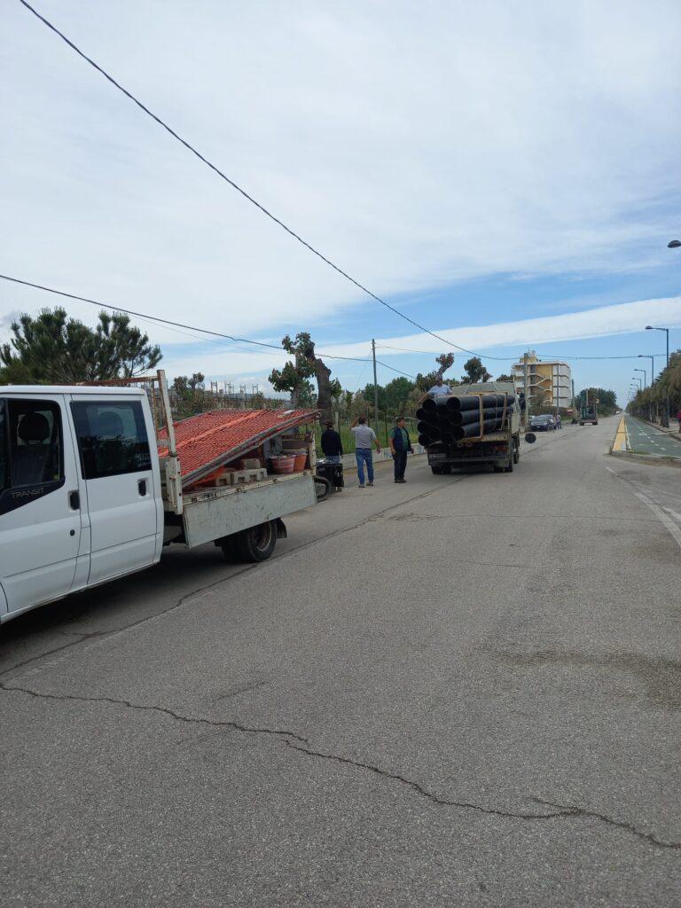 Linea fognaria sul lungomare di Villa Rosa: problemi durante lo scavo