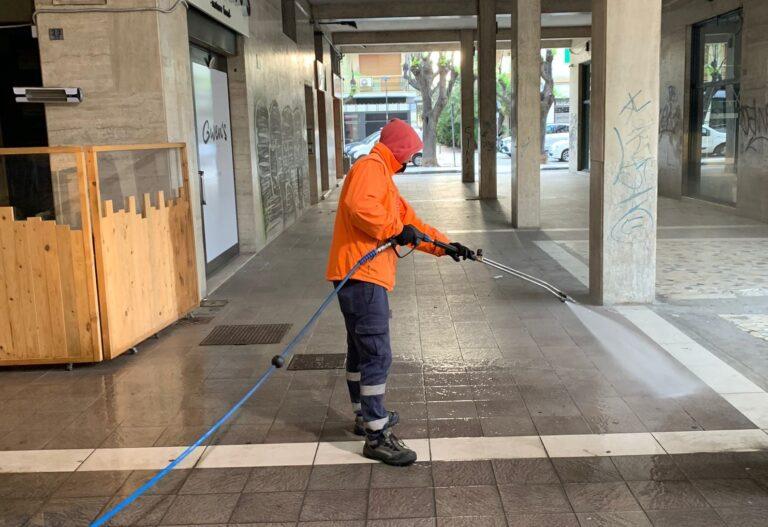 Pescara: 300 strade sanificate in 3 mesi