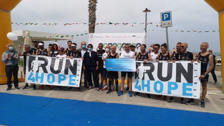 Cologna, grandi emozioni e solidarietà nella tappa del Run4Hope. Raccolti mille euro NOSTRO SERVIZIO