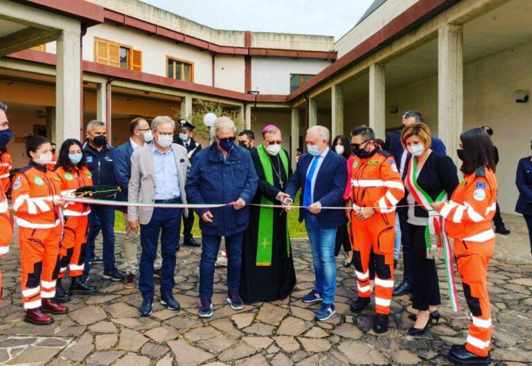 Tossicia: nuova sede per la Croce Verde della Valle Siciliana FOTO