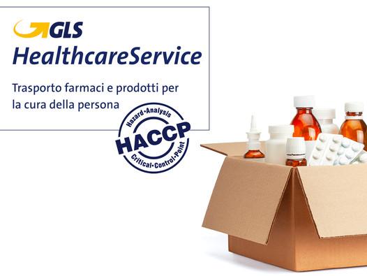 Trasporto prodotti farmaceutici ed Healthcare con GLS