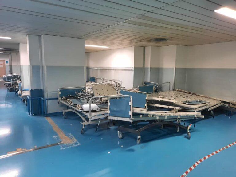 "Pescara: ""Ospedale fatiscente, pazienti ammassati senza condizionatori"" – FOTO"