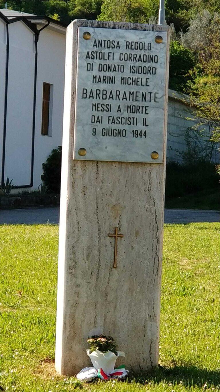 Montorio, l'Anpi ricorda l'assassinio dei martiri del cimitero