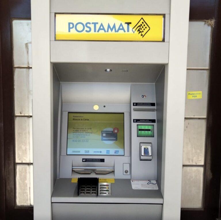 Atri, installato Postamat di ultima generazione a Fontanelle
