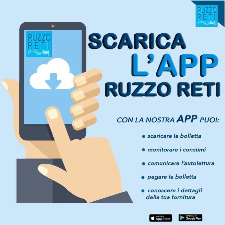 Ruzzo Reti, servizi semplificati con la nuova App