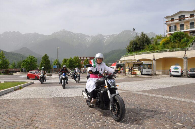 Al Santuario di San Gabriele il giubileo dei motociclisti con in testa il vescovo passionista FOTO