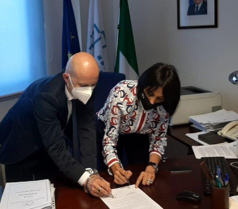 Ater Teramo gestirà alcuni alloggi a Cermignano: firmata convenzione