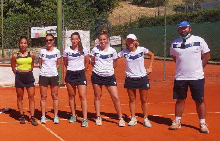 Circolo Tennis Mosciano vince la finale di andata 4-0. Serie B2 più vicina
