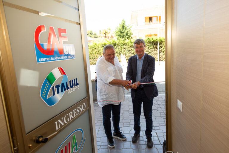 La Uil apre una nuova sede a Villa Rosa di Martinsicuro VIDEO