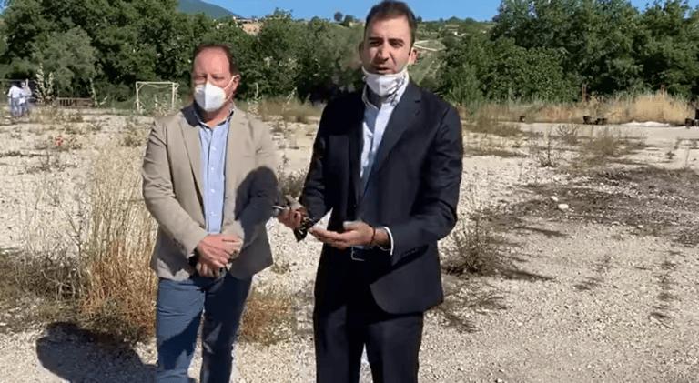 Campli, nuova palestra Nino Di Annunzio: partiti i lavori