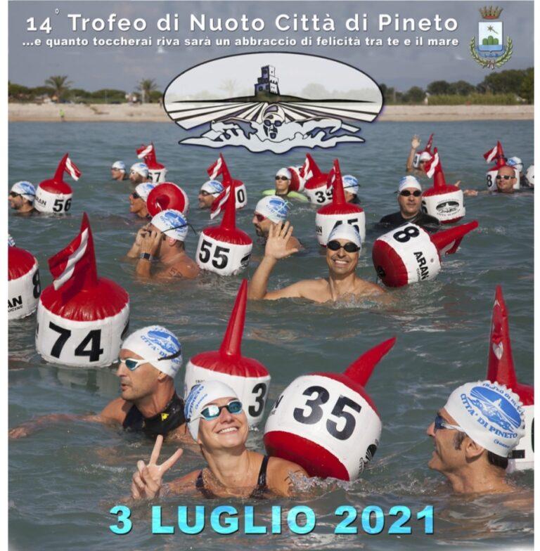 Pineto, torna lo storico appuntamento con il Trofeo di nuoto