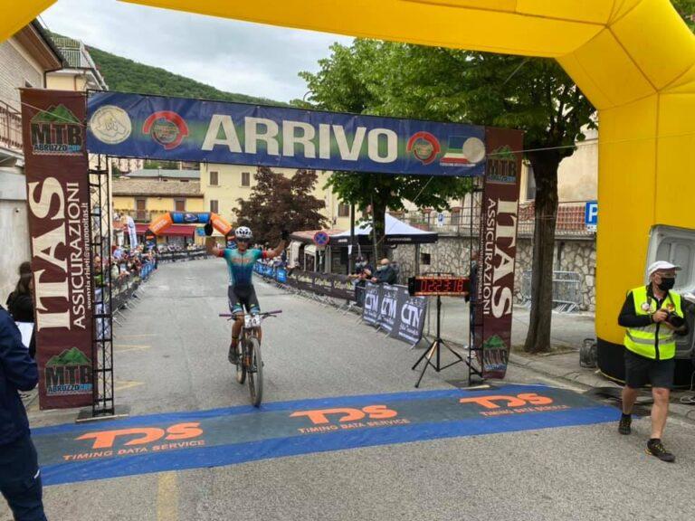 Mtb Abruzzo Cup, trionfo straniero nella Marathon degli Stazzi di Scanno