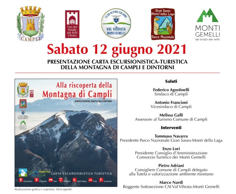 Campli presenta la nuova carta escursionistica