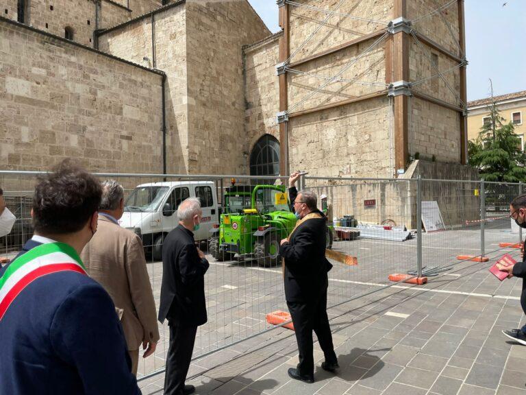 Teramo, ricostruzione: al via il restauro del Duomo