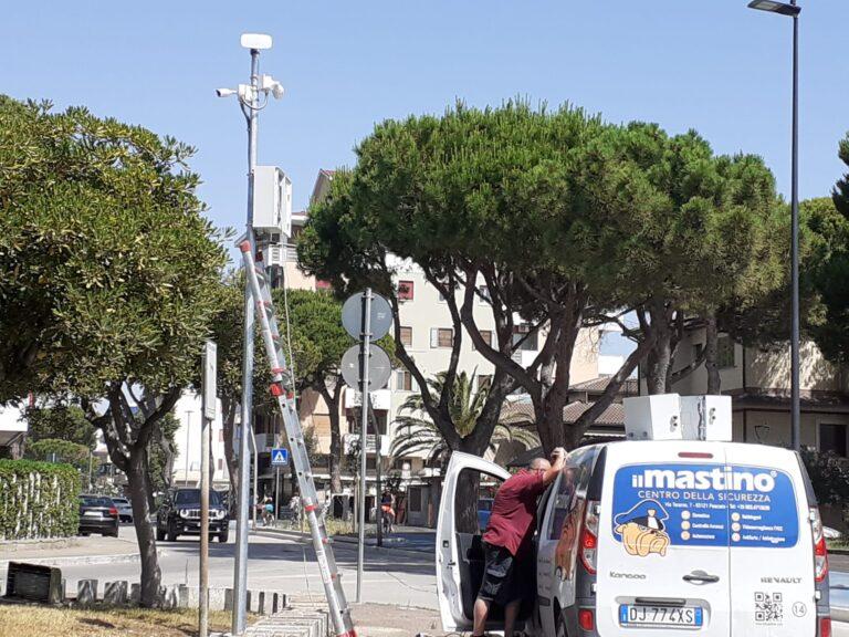 Videosorveglianza a Silvi, attive undici (di oltre venti) telecamere