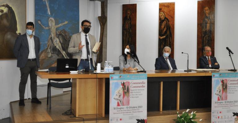 Inaugurata la mostra su Dante Alighieri presso il museo del Santuario di San Gabriele