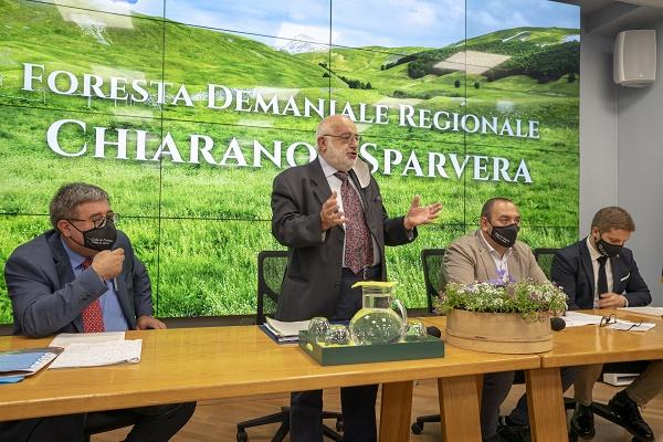 Il Parco Nazionale gestirà la foresta demaniale Chiarano-Sparvera