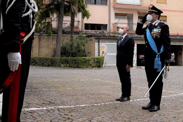 Anche a Teramo cerimonia per anniversario della fondazione dell'Arma. Encomi per due militari di Giulianova FOTO