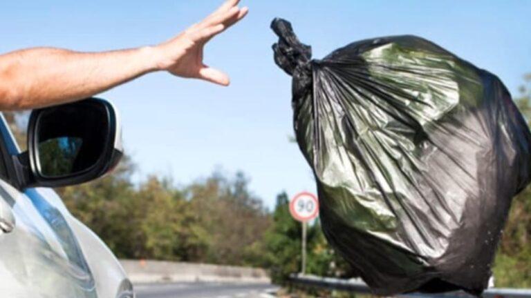 Teramo, abbandona rifiuti nella periferia della città: cittadino multato