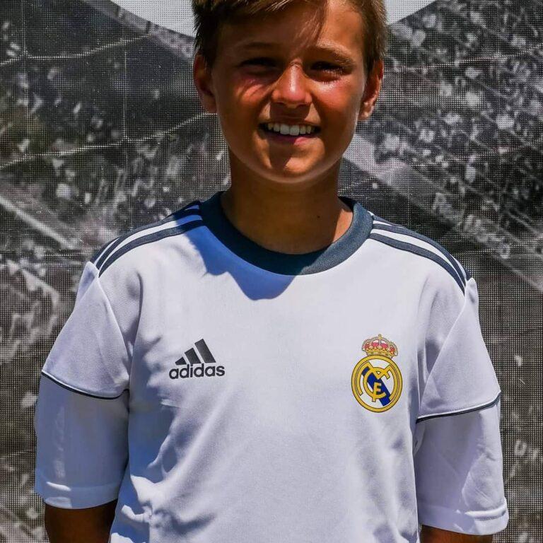 Silvi, il sogno di Nicolò Aliprandi con il Real Madrid