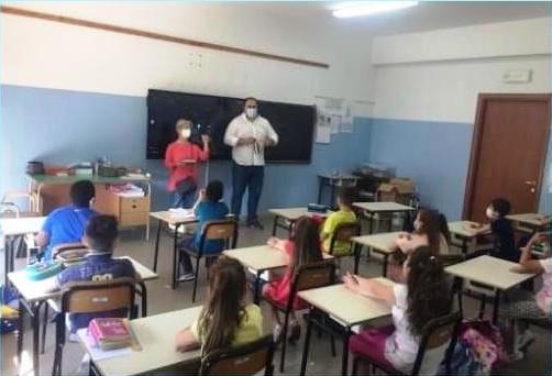 Martinsicuro, educazione ambientale: i complimenti degli amministratori agli studenti delle elementari