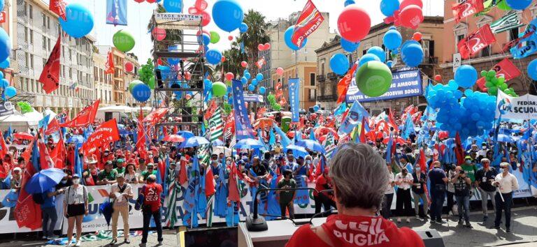 Sblocco dei licenziamenti: anche l'Abruzzo manifesta a Bari