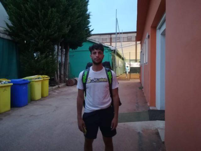 Chieti, Di Nicola all'Open Lazzaroni di Tennis