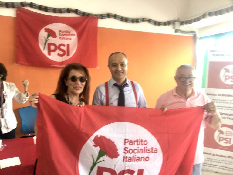 Mosciano, congresso PSI: Frezza eletto presidente, Pompizi segretario