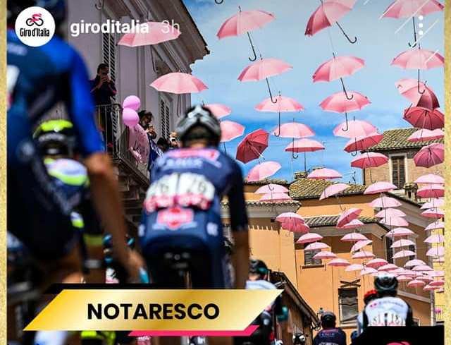 Giro d'Italia: Notaresco tra le migliori 4 città di tappa