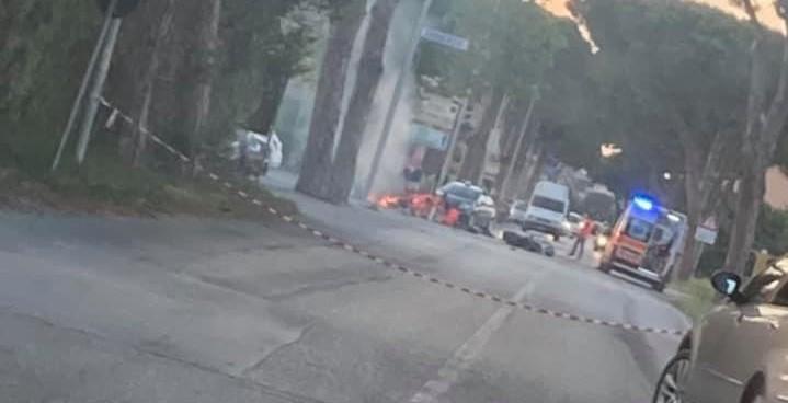 Martinsicuro, spaventoso incidente in via Roma con due morti FOTO