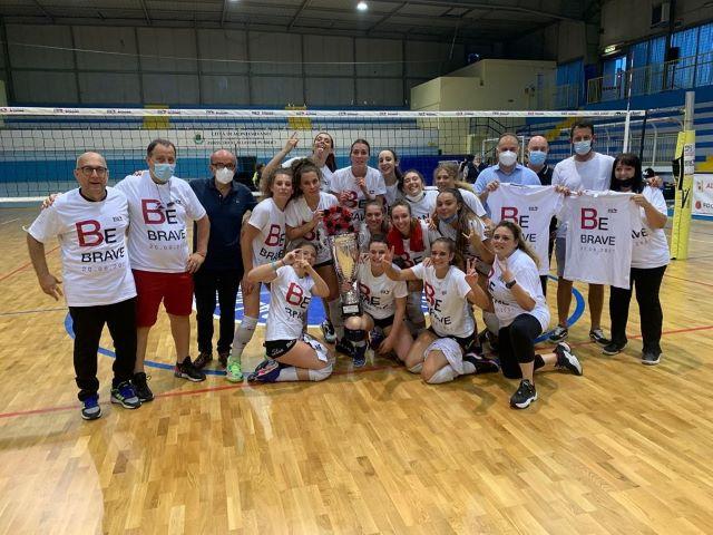 Ceteas Volley Montesilvano promossa in serie B2 femminile