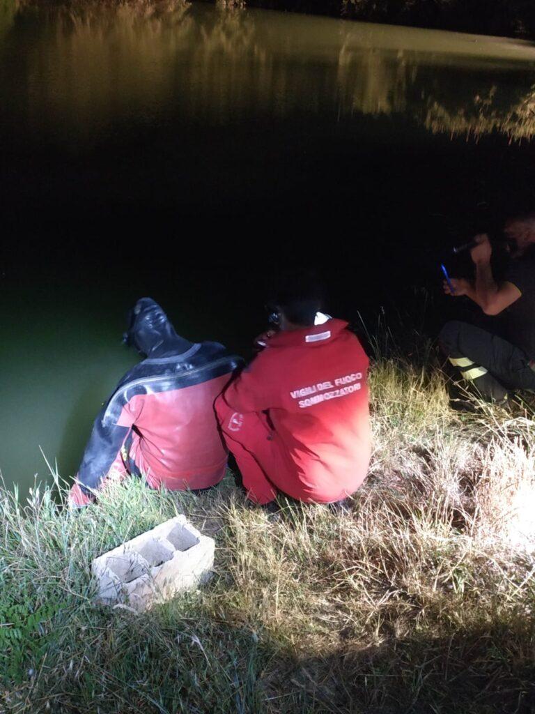 Morro d'Oro, recuperato il cadavere di un uomo nel lago artificiale FOTO VIDEO